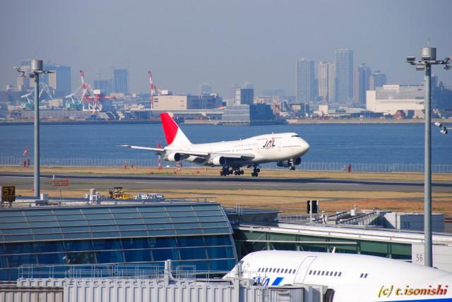 JALのジャンボジェット(2008/3/22)