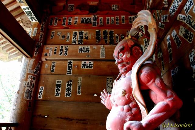 杉本寺仁王像(2007/10/7)