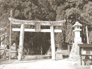 神社入口…鳥居