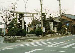伊勢街道(追分)