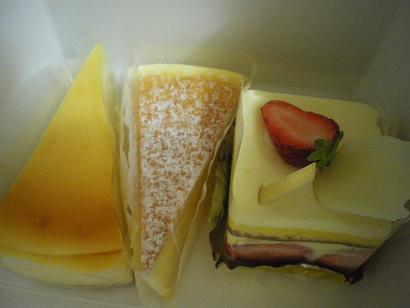 ヒロコーヒーのケーキ