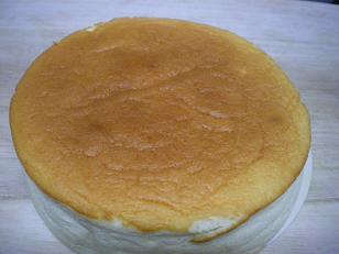 スフタイプのチーズケーキ