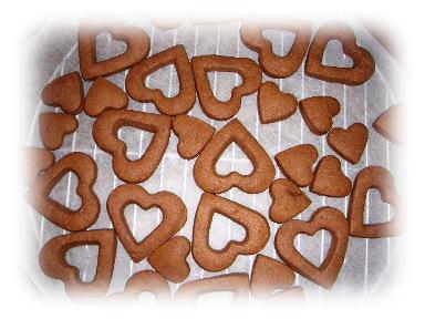 ハートクッキー1