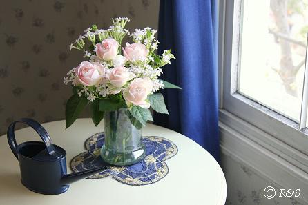 ピンクのバラ1IMG_1415