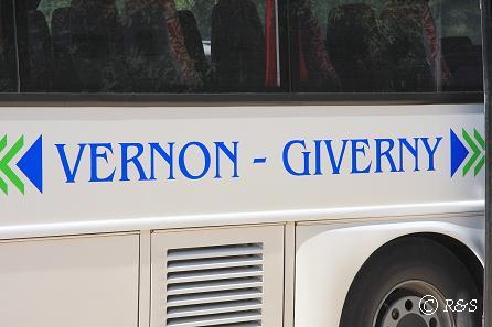 dシヴェルニー到着のバス1IMG_9810