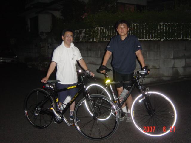 2007.6.27初購入でK坂登る