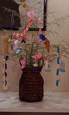 2008.7.5 PAL七夕飾り