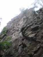 城山ワイルドターキーゴージ左壁の一番高い壁