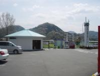 伊豆中央道出口の休憩所のトイレ01