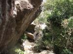 クッキングワールド右側面の岩