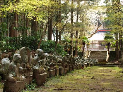 西伊豆松崎町 宝蔵院の石仏