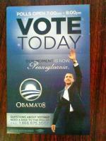 オバマ投票当日