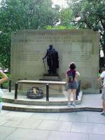 Washington Square・無名戦士の墓