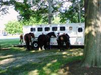 フィラデルフィア美術館 07/11 c 騎馬警官