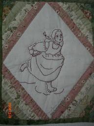 アンの刺繍