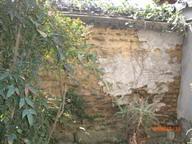 町家の奥の古壁
