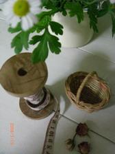 Cちゃん=糸巻き