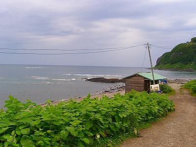 オホーツク海。