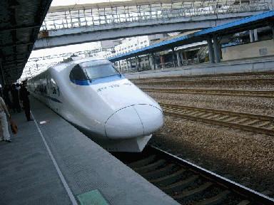 新幹線「和諧号」外観