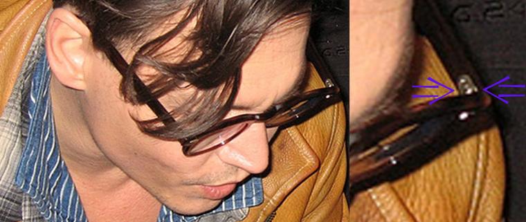 johnnY DEPP SUPERBAD 2008 タート 来日 エルビスプレスリー ELVIS KING シークレットウィンドウ メガネ 眼鏡 ウォレットチェーン リブラチェーン オスカー アカデミー賞 試写会 プレミア ヒルズ スウィ