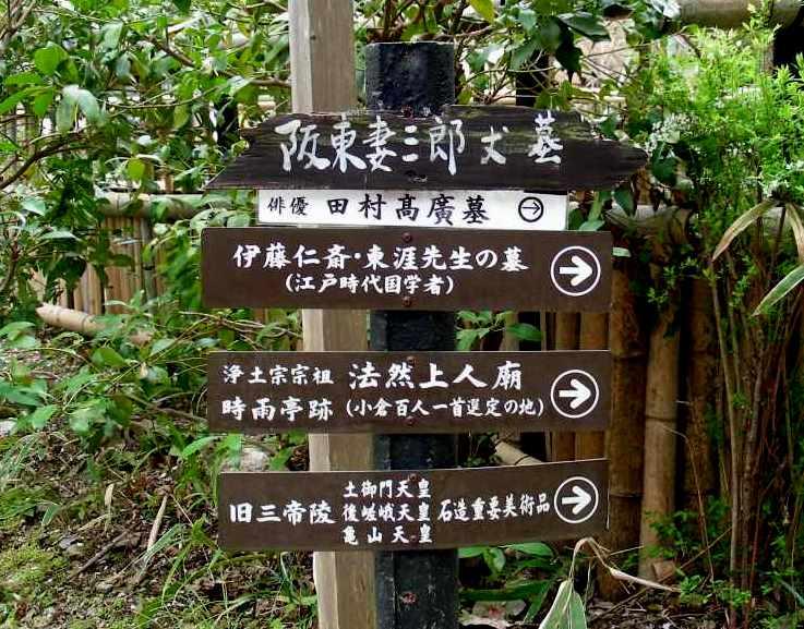 桜大覚寺、二尊院、嵐山 153