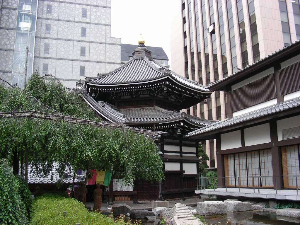 三条京極、六角堂 109