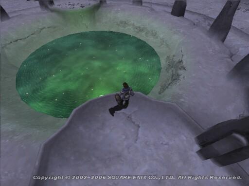 満月の「時の」泉