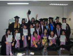 児童英語教師(J-Shine)コース卒業式