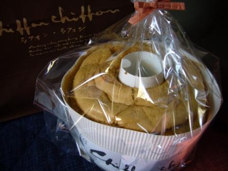 紅茶シフォン