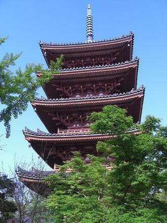 志度寺の五重塔