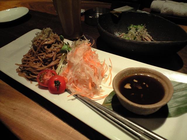 五行 麺サラダ