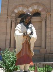 インディアン像