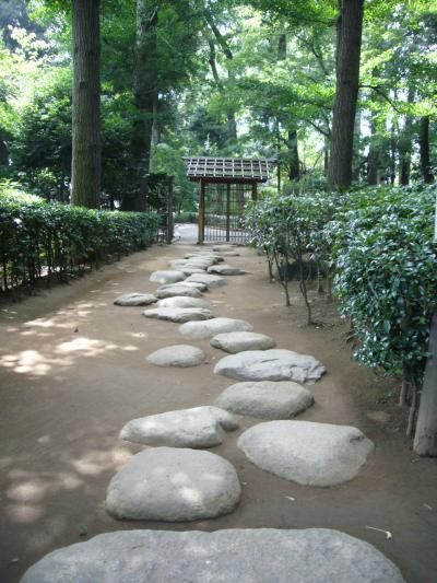 太田黒公園 石畳1