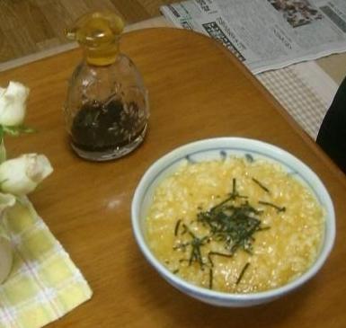 タマゴご飯+.――。o○