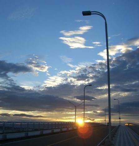 昨日の夕焼け.。.:*・゜゚・*