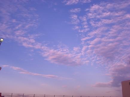 北方の空+.――。o○*☆*