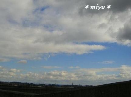 2日前の空*