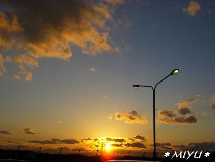 おとついの夕焼け.。.:*・゜