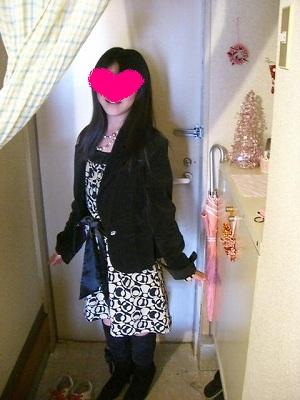 ランチの時の服装♪以前娘が着ちゃった!