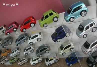 ○○○の車がいっぱいだよ*