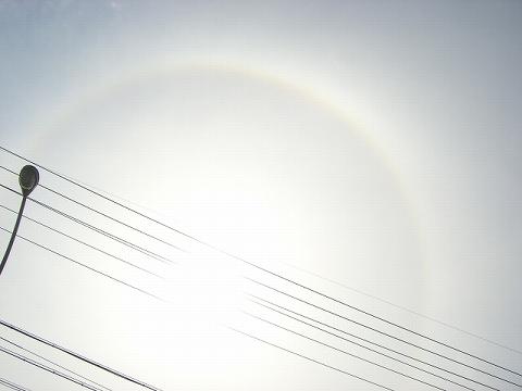 ハロー360度のまんまるぅ~~!