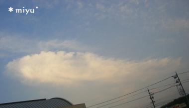 5月12日の雲♪*