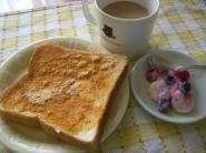 今日の朝食.。.:*・゜゚・*