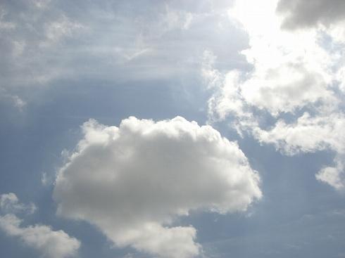 雲はいいなぁ~*