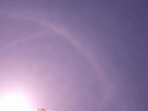 90度で虹!なんちゃって;