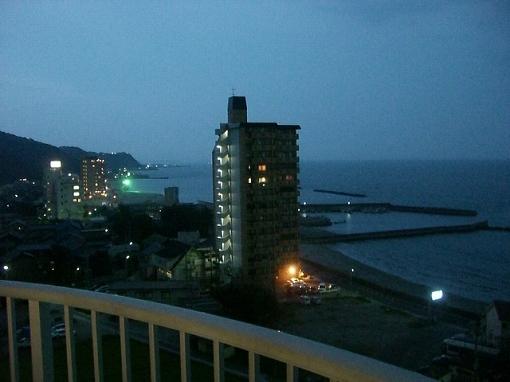 ホテルからの眺め+。*゚¨゚゚・*:..。o○