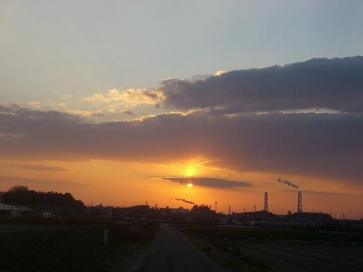夕日の目隠し。o.゚。*・○