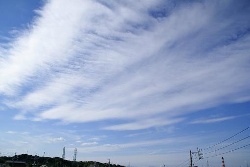 朝の雲。o.゚。*・○