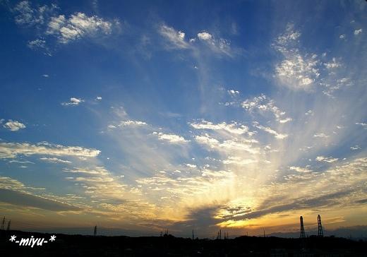 秋の夕暮れ2007.:*・゚☆.。.:*