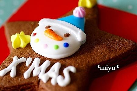 クリスマスクッキー。.:*・゚☆.。.:*